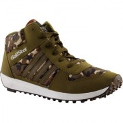 Goldstar Khaki Brown with boot Original Running Shoes For Mens