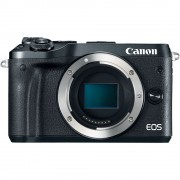 Canon EOS M6 Body Aparat Foto Mirrorless 24MP APSC Full HD Negru