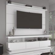 Rack com Painel Vivare - Branco - Germai Móveis