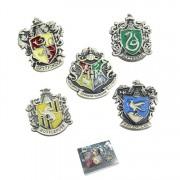 Set Insigne Harry Potter Hogwarts School Bronze