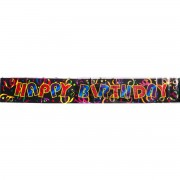 Party banner Happy Birthday Confetti