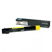 Consumabil Lexmark toner X950X2YG yellow