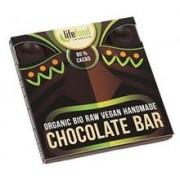 Ciocolata cu 80% Cacao Raw Bio LifeFood 35gr
