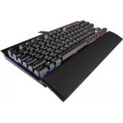 Tastatura Gaming Mecanica Corsair K65 RGB RAPIDFIRE Compact, Cherry MX Speed, Layout EU