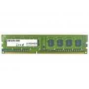 Unknown 2-Power 2GB MultiSpeed 1066/1333/1600 MHz DIMM SR - DDR3