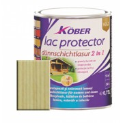 Lac protector 2 in 1 incolor 2.5 l Kober,