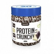 Quamtrax Nutrition Protein Crunchy sabor Chocolate Preto e Branco Quamtrax 500 g