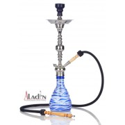 Aladin Zebra 75 cm vízipipa — kék
