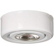 Alico Industries MLE-101-30 Luz LED con anillo de montaje Acabado Blanco Bajo Gabinete/Utilidad