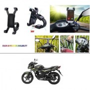 AutoStark Motorcycle Mount Cell Phone Holder/Installed to Motorcycle Rearview mirror Phone Mount For Yamaha SZ-RR