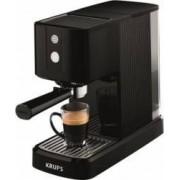 Espressor manual Krups Calvi XP3410 1460W 15 bar 1 l Negru