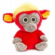Maimuta de plus Moonlings Keel Toys, 14 cm, Rosu, 3 ani+