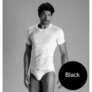 Minerva [2 Pack] Sporties Eco Vest Muscle Top T Shirt Black 12013