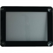 Securit Window Display Menu Frame A4 Black