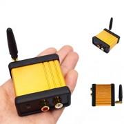 ELECTROPRIME Car Bluetooth 4.0 Audio Receiver Stereo Hi-Fi Box Adapter APTX 3.5mm Output