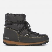 Moon Boot Women's Low Nylon Waterproof Boots - Black/Bronze - EU 36/UK 3.5