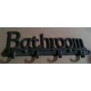 Cast iron bathroom hook wall hanger