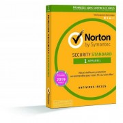 Symantec Norton Security Standard 2019 1 Appareil 1 An