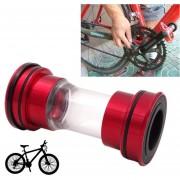 Bicicleta Bb209 Pedalier Shimano Encaja 86-92mm Para Bicicleta De Montaña (rojo)