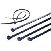 Colier cablu standard, danturat intern, stabil la UV, poliamida 6.6 (PA66W), 368 x 4,8 mm, Ø fascicul 83 mm, negru
