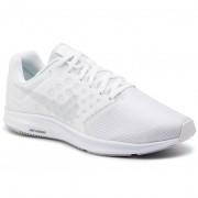 Nike Buty NIKE - Downshifter 7 852459 100 White/Pure Platinum