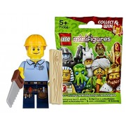 Lego (LEGO) mini figure series 13 carpenter unopened goods | LEGO Minifigures Series 14 Carpenter [71008-9]