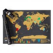 Световна Скреч Карта Делукс