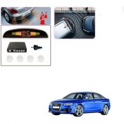 Auto Addict Car White Reverse Parking Sensor With LED Display For Audi RS 6