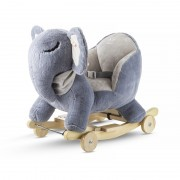 Kinderkraft njihalica klackalica Sivi slon