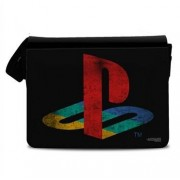 Playstation Distressed Logo Messenger Bag, Messenger Shoulder Bag
