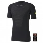 【プーマ公式通販】 プーマ PUMA BY X-BIONIC TWYCE ランニング シャツ 半袖 メンズ インナーシャツ メンズ Puma Black-Yellow Alert  PUMA.com ブラック