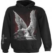 kapucnis pulóver férfi - TEARS OF AN ANGEL - SPIRAL - D053M451