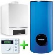 Pachet pentru centrale termice cu condensare Buderus Logamax plus GB 162 65kW cu boiler solar SM400/5E