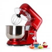 Klarstein Bella Rossa Küchenmaschine, 1200W 1,6 PS, 5 Liter rot