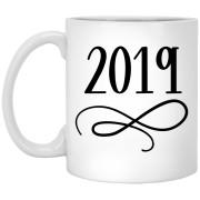 Happy Holidays - Holidays - 11 oz. White Mug - 2017
