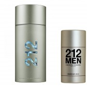 Carolina Herrera 212 MEN EDT 100 ML + 212 MEN DEO BARRA 75 ML