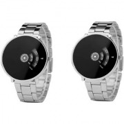 R P S fashion new looked for combo pack of 2 men watch 6 month warranty