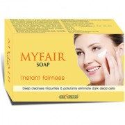 MyFair Instant Fairness Soap( Pack of 5 ) 75gm Each