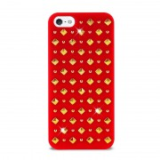Puro - Studs Backcover iPhone SE / 5S / 5