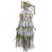 Disfarce zombie do século XIX Halloween