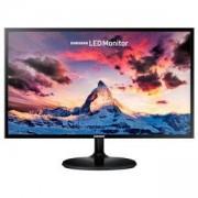 Монитор Samsung S24F350F 23.5 LED, Full HD (1920x1080) PLS, яркост: 250cd/m2, контраст: 1000:1, време за реакция: 4ms, черен, LS24F350FHUXEN