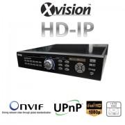 HD IP NVR rekordér pro 25/36 kamer 1080p / 720p + 4TB HDD
