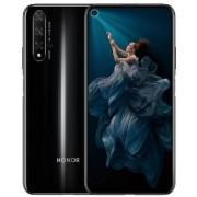 "Telefon Mobil Huawei Honor 20, Procesor Hisilicon Kirin 980, Octa-Core, IPS LCD Capacitive touchscreen 6.26"", 6GB RAM, 128GB Flash, Camera 48 + 16 + 2 + 2 MP, 4G, Wi-Fi, Dual SIM, Android (Negru)"