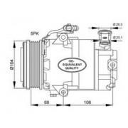 Compresor Climatizare Nrf 32082 50554