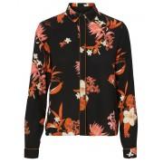 VERO MODA Floral Shirt Black