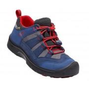 Gyerek cipő Keen Hikeport WP Jr, dress blues / firey red