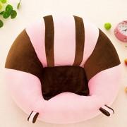 mupai Postura de Sentado de Aprendizaje del Asiento de Apoyo para bebés, Proteger el cojín de la Cintura de la Almohada de la Silla Suave del bebé, Regalo de Peluche