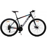 "Bicicleta mountainbike Omega Thomas, Model 2018, Roti 27.5"" (Negru/Alb)"