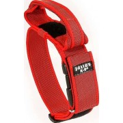 JULIUS-K9 Color & Gray® Halsband med handtag - Röd