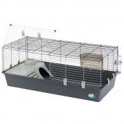 Ferplast 120 Gaiola para roedores - Cinza: C118cmxL58,5cmxA51,5 cm